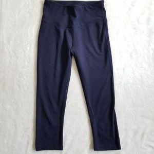Navy Blue Balance Collection Crop Leggings S